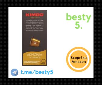 Kimbo qualità Arabica (Armonia) – Per i palati più esigenti!
