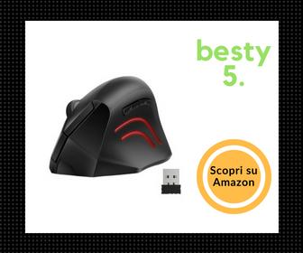 Mouse Verticale Ergonomico TeckNet - Il migliore per qualità/prezzo