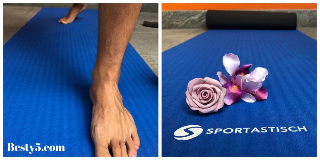 "Tappetino da Yoga ""Yoga Star"" Sportstatisch: la prova pratica"