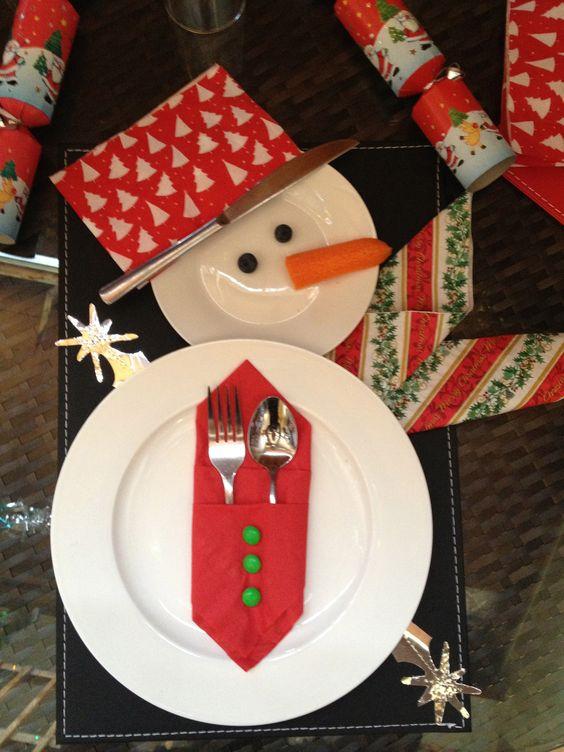 Come apparecchiare la tavola a Natale per i bambini