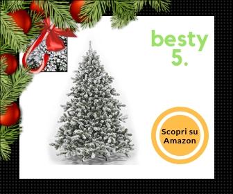 Albero di Natale innevato Tirolese, da 210 cm