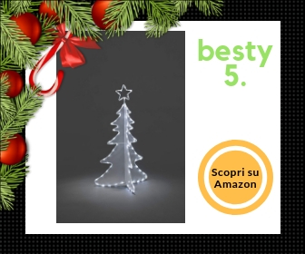 Konstmide, albero di Natale a LED, in acrilico