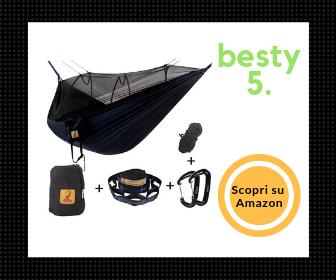 Migliore amaca da viaggio con zanzariera - Besty5