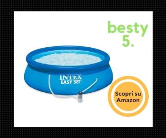 Intex 28122 Easy Set Piscina Gonfiabile Rotonda - Besty5