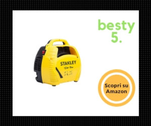 Stanley - Miglior compressore portatile