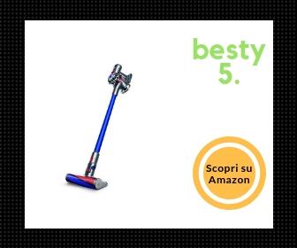 Dyson 227608-01 V7 Fluffy Miglior aspirapolvere senza filo - Besty5