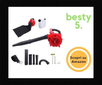 Paneltech 3 in 1 - Il migliore aspirafoglie a scoppio per rapporto qualità/prezzo - Besty5