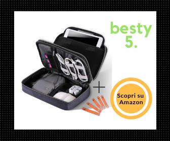 Miglior Organizer borsa da viaggio - L'organizer con doppia cerniera - Besty5