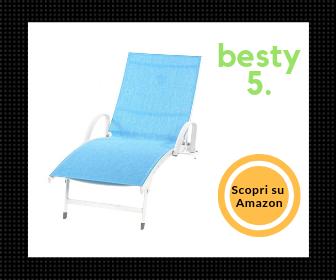 Miglior lettino prendisole XONE - La scelta di Besty5