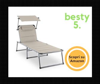Miglior lettino prendisole Blumfeldt Amalfi - Besty5