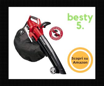 Einhell GE-CL 36 Li E - L'aspirafoglie a batteria con le ruote - Besty5