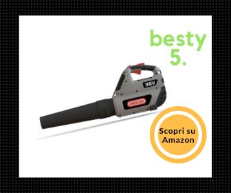 Oregon Aspirafolgie a Batteria BL 300 - Design ergonomico - Besty5