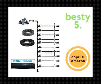 Agriplast - Kit di irrigazione a goccia con tubo da 20 mt, completo di filtro - Besty5
