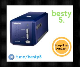 Plustek OF8100 – Scanner professionale per diapositive con 7200 dpi di risoluzione