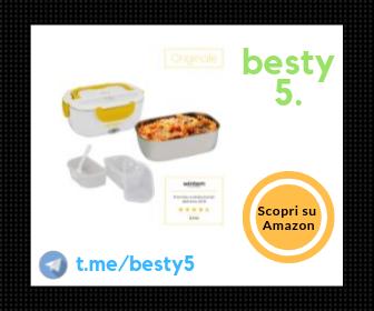 Lunchy Box - Portavivande termico elettrico in acciaio inox