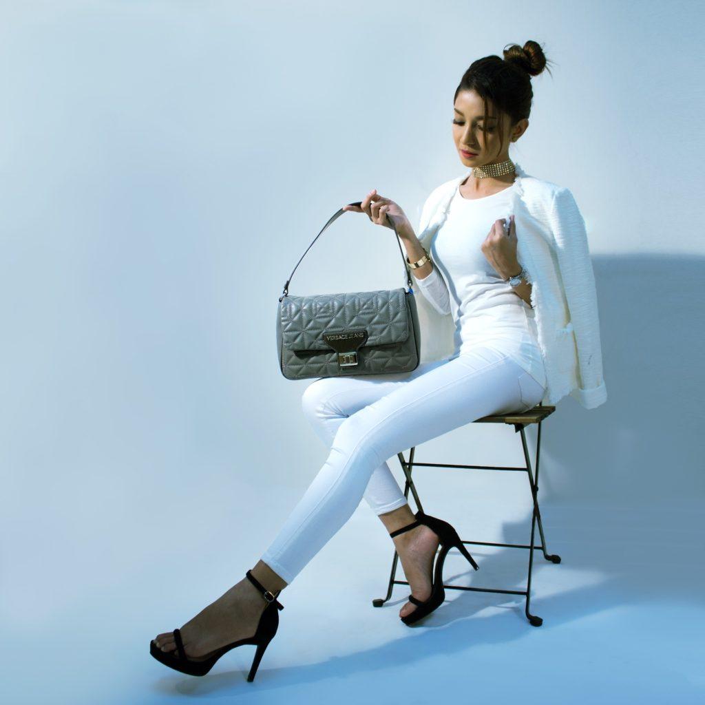 Modello borsa elegante