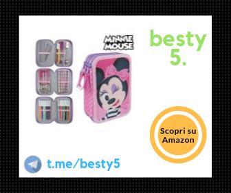 Disney Minnie - Astuccio da bambina con 42 accessori