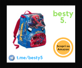 Spiderman - Zaino scuola da maschio Webbed Wonder