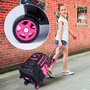 Il miglior zaino trolley per la scuola elementare da bambina - Immagine in evidenza