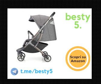 Hot Mom passeggino ultraleggero pieghevole con cintura di sicurezza regolabile a 5 punti