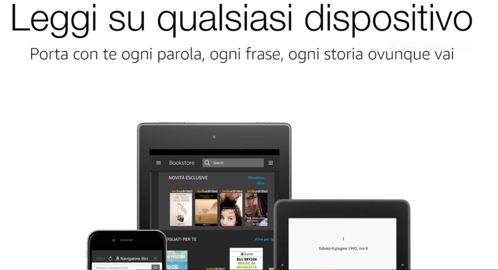 Kindle Unlimited Amazon - Immagine