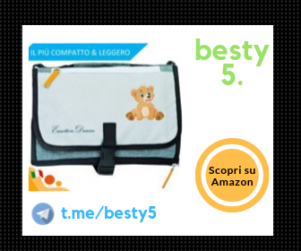 EmotionDream fasciatoio portatile pieghevole ed impermeabile