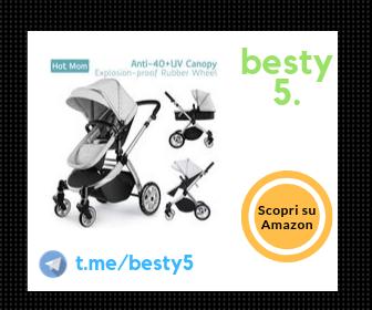 Hot Mom passeggino trio con sedile sportivo reversibile
