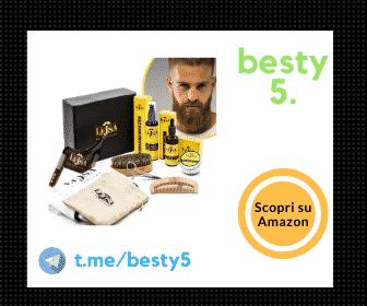 LEJSA kit da barba completo e professionale, ottimo rapporto qualità-prezzo