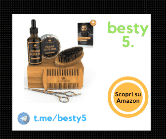 Naturenics kit per la cura della barba Premium, il kit più raffinato e naturale