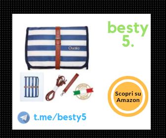 Qualia borsa fasciatoio con tracolla e tasche interne