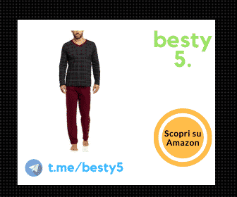 Timone pigiama da uomo in cotone, modello trendy e versatile