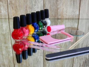 kit semipermanente per unghie