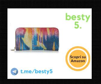 Desigual Wallet Carabela Fiona con design innovativo e chiusura a zip, modello colorato